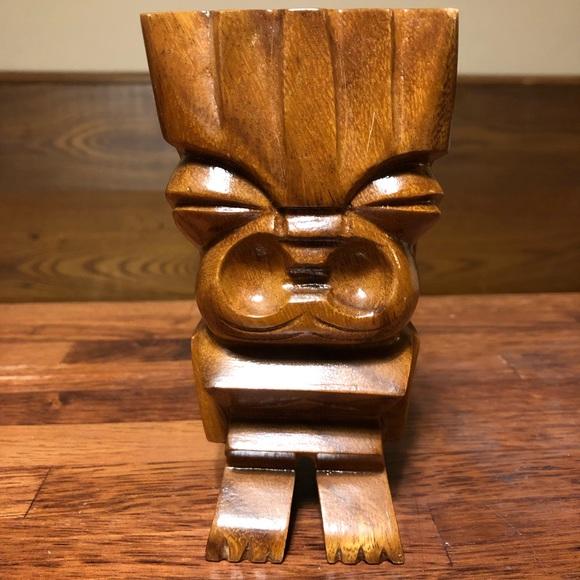 Vintage Waikiki Woods Hawaii Totem Statue